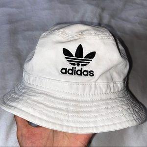 COPY - adidas white bucket hat